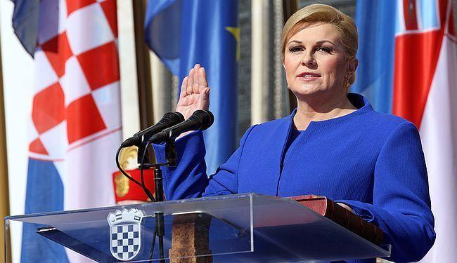 KOLINDA PROTIV ORJUNE: Predsjednica je pala na tjeme