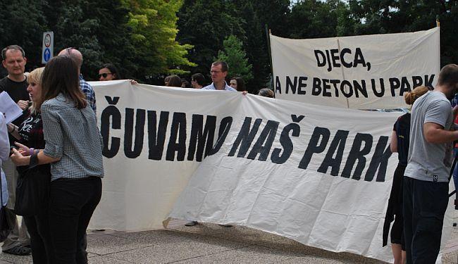 OBRANI PARK-OBRANI GRAD: Građani ustaju protiv samovolje gradonačelnika