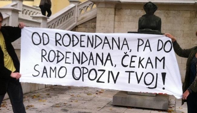 ROĐENDANSKA ČESTITKA: Kupus za rektora koji je Sveučilište pretvorio u 'kupusište'
