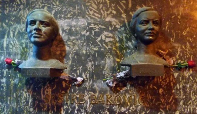 SLAVA HEROINAMA: Ruže i svijeće za Rajku i Zdenku