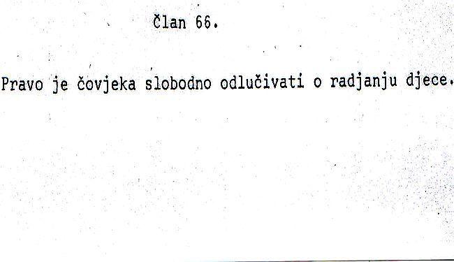UKINUTA SLOBODA IZBORA: Kako je pravo na pobačaj misteriozno nestalo iz nacrta prvog hrvatskog Ustava