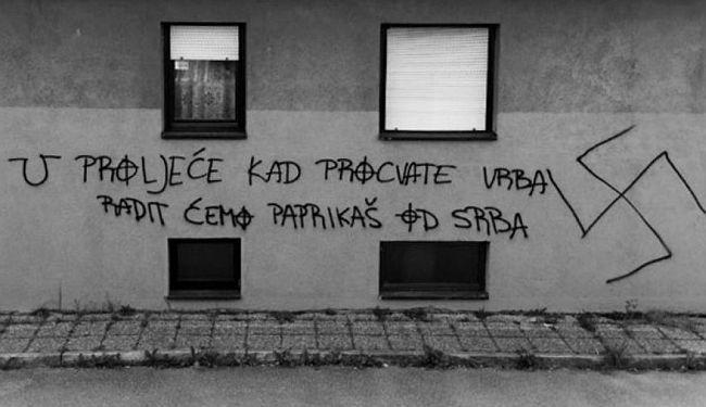"""NEPODNOŠLJIVA LAKOĆA MRŽNJE: Tko to tamo radi """"paprikaš od Srba"""""""