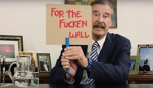 """PORUKA BIVŠEG MEKSIČKOG PREDSJEDNIKA DONALDU TRUMPU: """"Meksiko neće platiti tvoj jebeni zid"""""""