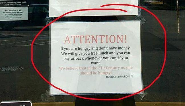 IMIGRANTI JE ČINE VELIKOM: Bosanci hrane gladne Amerikance