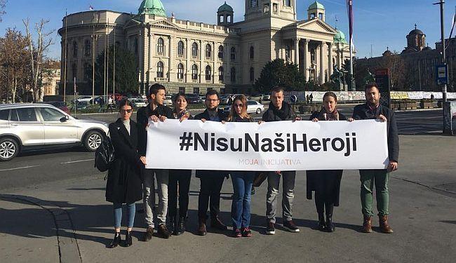 REAKCIJA INICIJATIVE MLADIH: #NisuNašiHeroji
