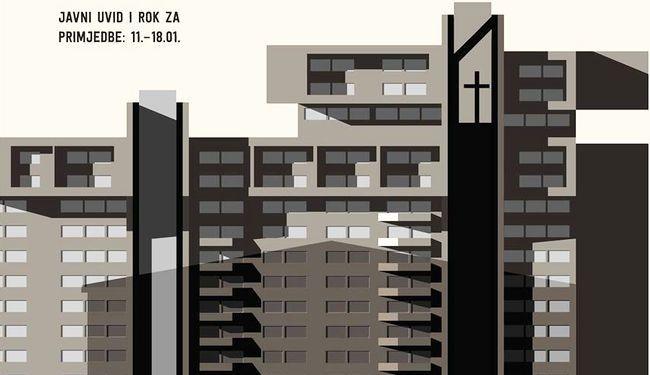 GRADE CRKVU NA MJESTU PREDVIĐENOM ZA TRG: Splićani, vaši arhitekti vas pozivaju na otpor