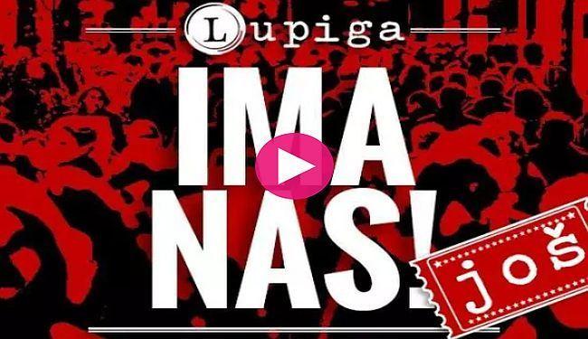 HVALA NA VAŠIM SNIMKAMA PODRŠKE: Evo tko je sve podržao Lupigu u mjesec dana amaterske kampanje