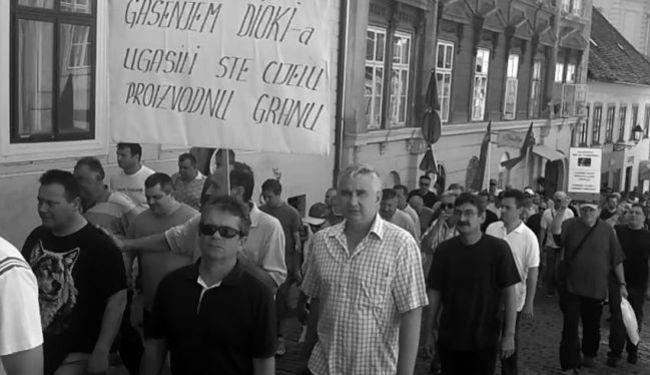 SMRT PRIJE PLAĆE: Od početka stečaja preminulo 26 radnika DIOKI-ja