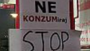 NEPOKORENI G(R)AD: Ivica Todoriću, neće ni tvoja do zore sjati!