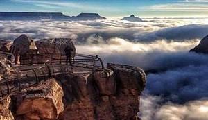ZADIVLJUJUĆE FOTOGRAFIJE: Pogledajte fascinantne prizore Grand Canyona pri rijetkom fenomenu