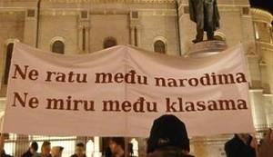 BORBA U BIH JE I HRVATSKA BORBA: Ne ratu među narodima, ne miru među klasama!