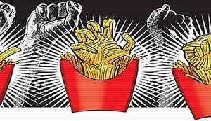 """ODGOVOR NA GLOBALIZACIJU: """"Svjetski štrajk hamburgera"""" je tek počeo, pred njim je dugačak put! Dobar tek!"""