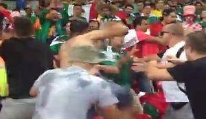 NAVIJAČI U AKCIJI: Pogledajte tučnjavu Hrvata i Meksikanaca u Brazilu