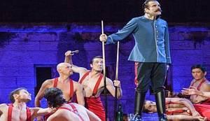 KRLEŽINA ANGAŽIRANOST: 70 minuta furiozne, blještave i fantazmagorične plesno-dramske igre