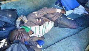 POŽAR NA BAJAKOVU: Smrtno stradao uhićeni imigrant iz Sirije