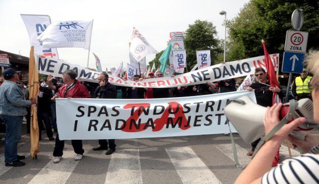 PRAZNIK RADA U HRVATSKOJ: U Sisku 2 tisuće prosvjednika, u Zagrebu 60 tisuća porcija graha