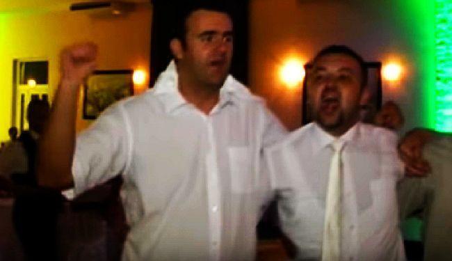 ČELNICI VUKOVARA SLAVE USTAŠTVO (VIDEO): Na dogradonačelnikovoj svadbi otkidali na Juru i Bobana!