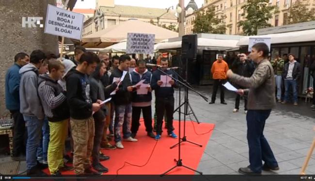 USRED ZAGREBA: Romi zapjevali ustaške pjesme!