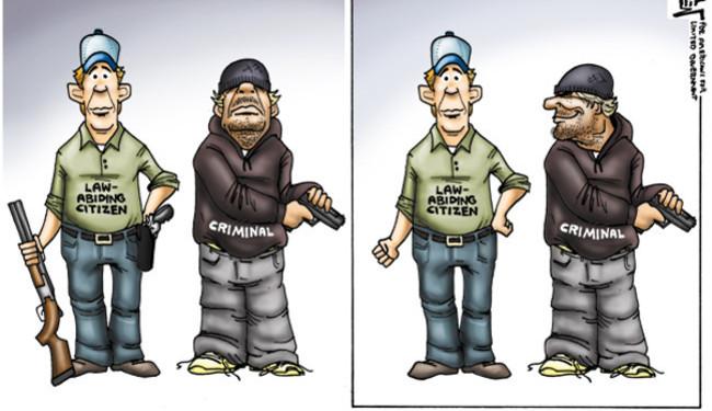 TRUMP IZ NAŠEG SOKAKA: Pucanje svatko na svakoga je temeljno ljudsko pravo?