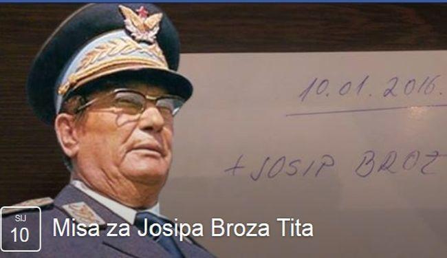 NA MARKOVOM TRGU: Misa za Josipa Broza Tita 10. siječnja, već su krenule prijetnje