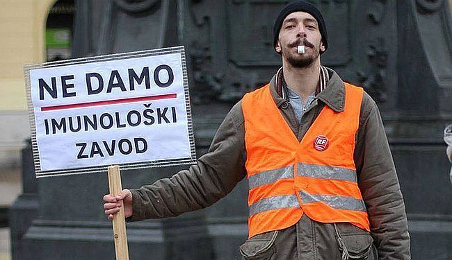 ZA REGISTAR IZDAJNIKA SPREMAN: Registrirajte me, fašisti!