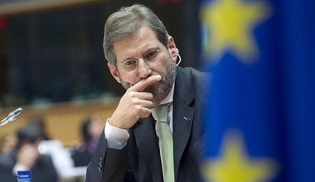 POLIGON ZA PRAKSU: Što radi europski povjerenik Johannes Hahn u Makedoniji?