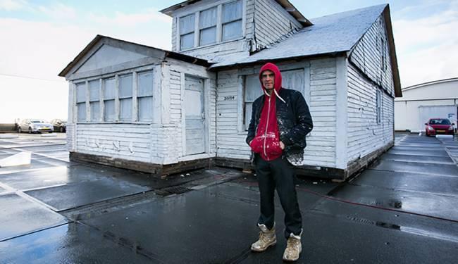 KONTROVERZNI IZLOŽAK: Napuštena kuća iz Detroita preseljena u Europu