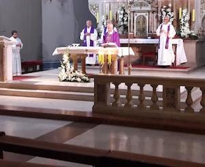MISA ZA NDH: Vojni kapelan Vojnog ordinarijata Hrvatske vojske s oltara navijao za ustaše