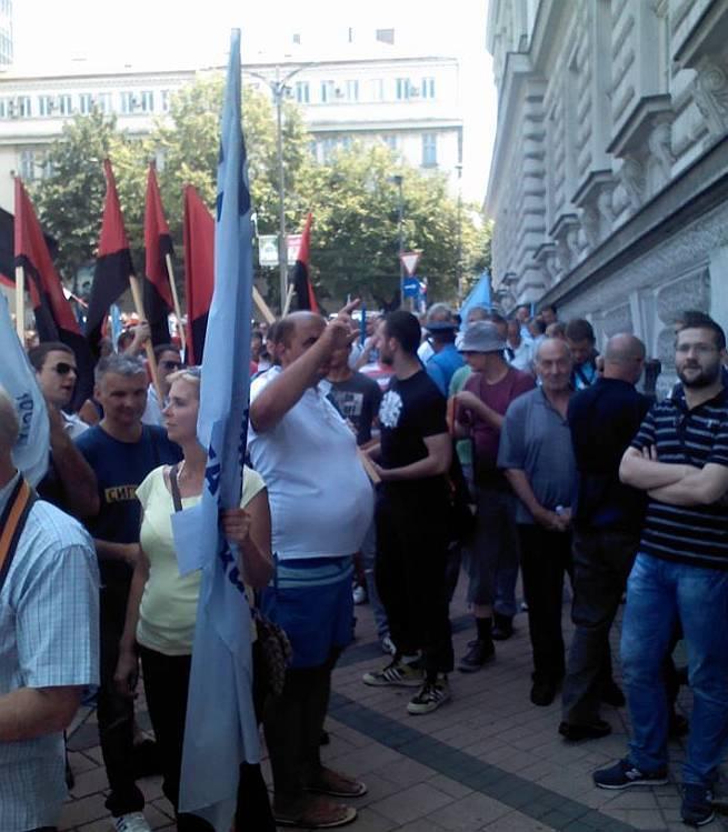 Beograd protesti sindikata