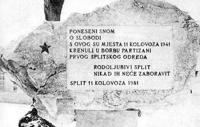 Prvi splitski partizanski odred