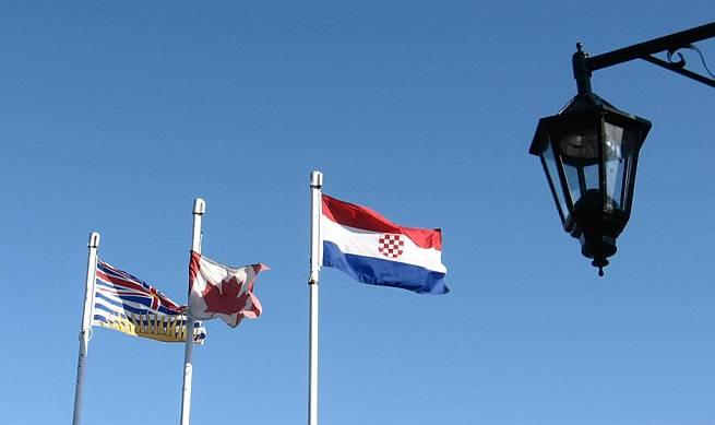 Kanada ustaška zastava