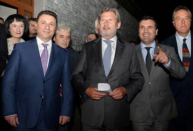 Gruevski Zaev Hahn