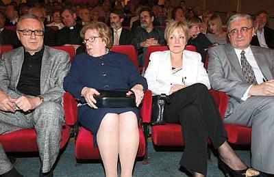 Stjepan Tuđman, Ankica Tuđman, Nevenka Tuđman, Miroslav Tuđman