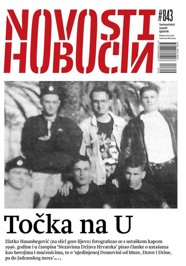 Zlatko Hasanbegović ustaša