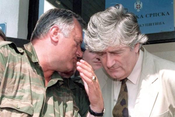 Radovan Karadžić Ratko Mladić