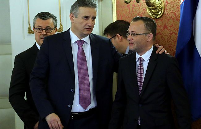 Tomislav Karamarko Zlatko Hasanbegović