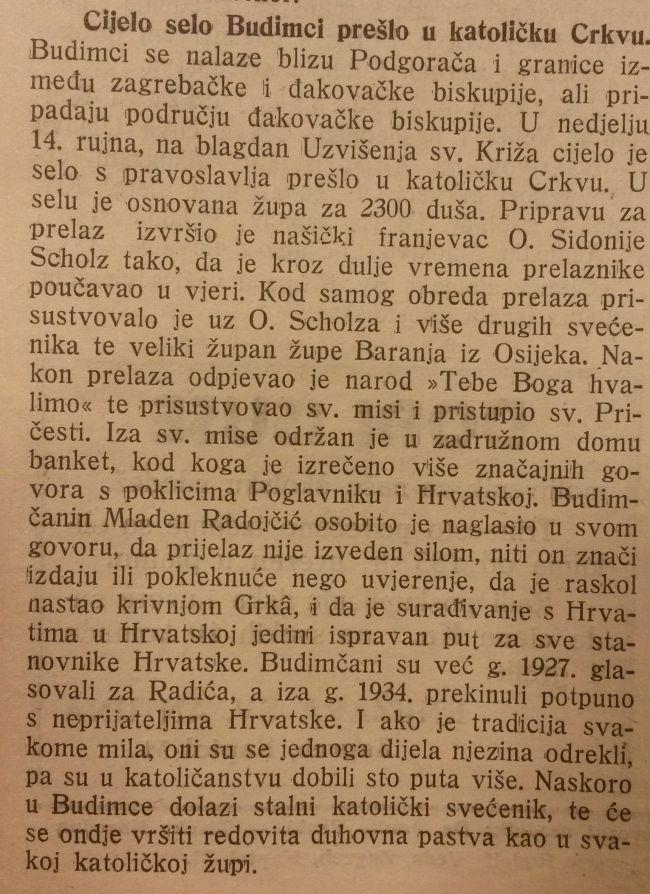 Katolički List Alojzije Stepinac