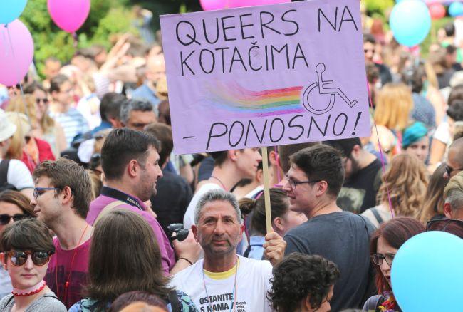 Zagreb Pride 2016 Tofko Dedić