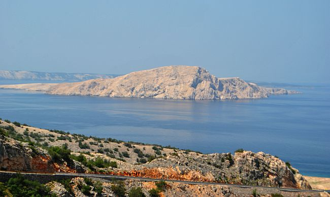 Goli otok panorama