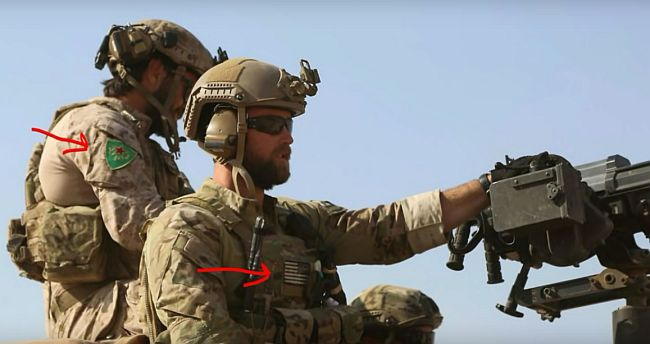 YPG US forces