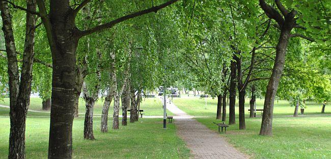 park savica crkva