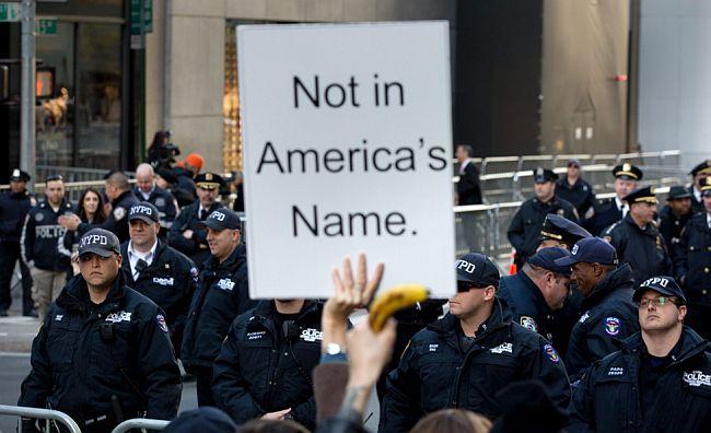 Trump protesti