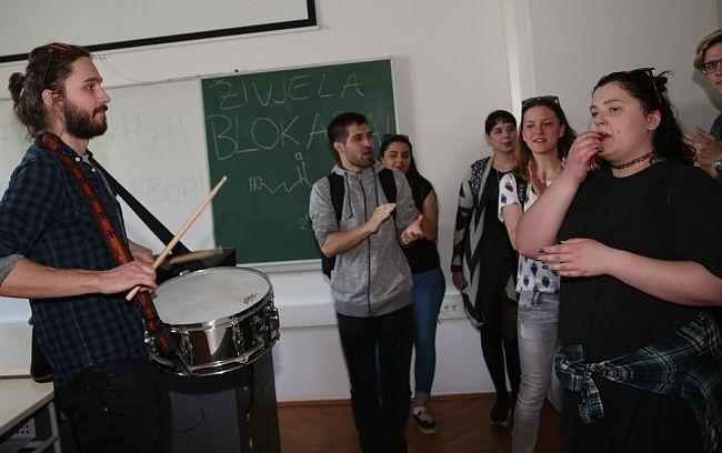Blokada Hrvatski studiji