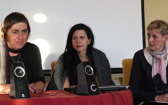 Staša Zajović, Nela Pamuković, Biserka Momčinović