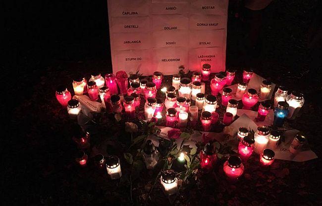 U znak sjećanja na žrtve