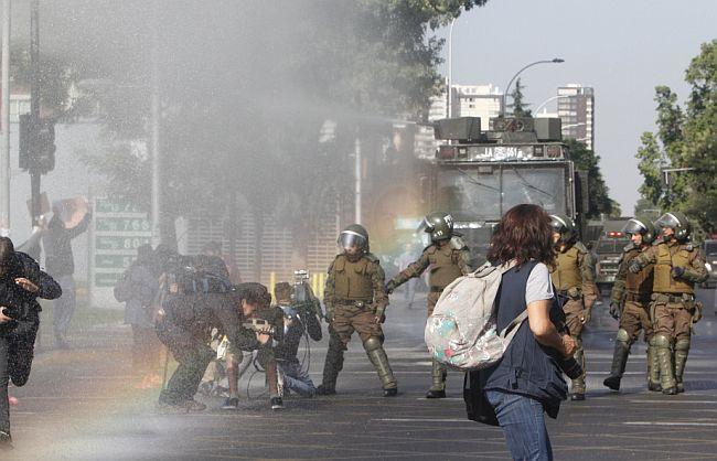 Prosvjedi Čile
