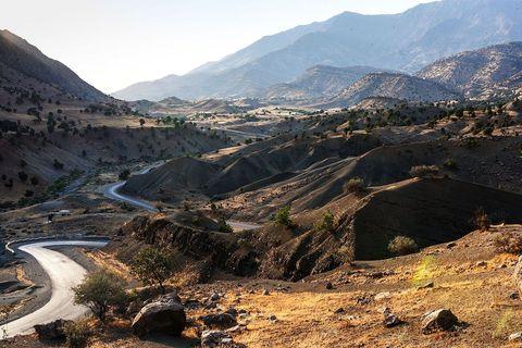 Surovo gorje Kandil, na sjeveroistoku Iraka, gdje smo posjetili sjedište PKK (Radnička partija Kurdistana)