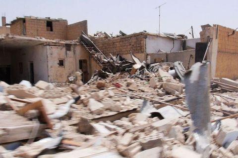 Posljedice savezničkih zračnih udara u Raki