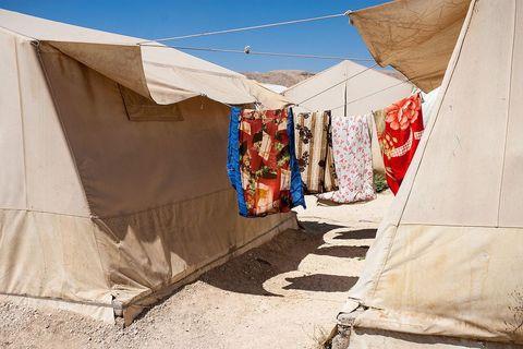 Jezdiski izbjeglički logor u Dohuku, u iračkom Kurdistanu