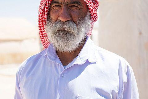Jezid u izbjegličkom kampu u Dohuku